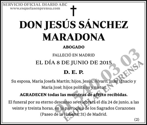 Jesús Sánchez Maradona